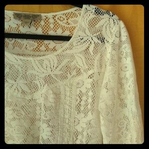 Nine West Vintage America lace top small